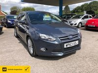 USED 2013 63 FORD FOCUS 1.0 ZETEC NAVIGATOR 5d 124 BHP NEED FINANCE? WE CAN HELP!