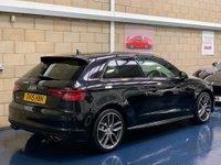 USED 2015 15 AUDI A3 2.0 TFSI Hatchback 3dr Petrol Manual quattro (162 g/km, 296 bhp) +FULL SERVICE+WARRANTY+FINANCE