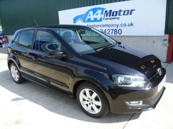 2013 VOLKSWAGEN POLO 1.2 Match Edition 5dr £5590.00