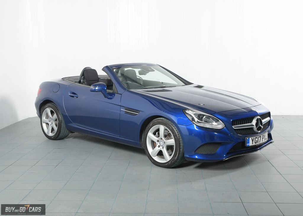 USED 2017 17 MERCEDES-BENZ SLC 2.1 SLC 250 D SPORT 2d AUTO 201 BHP BUY NOW, PAY 2 MONTHS LATER