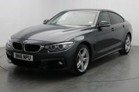 USED 2016 16 BMW 4 SERIES 2.0 420D XDRIVE M SPORT GRAN COUPE 4d AUTO 188 BHP £500 Finance Contribution!