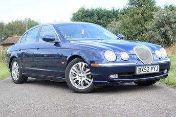 2002 JAGUAR S-TYPE 4.2 V8 SE 4d AUTO 300 BHP £1750.00