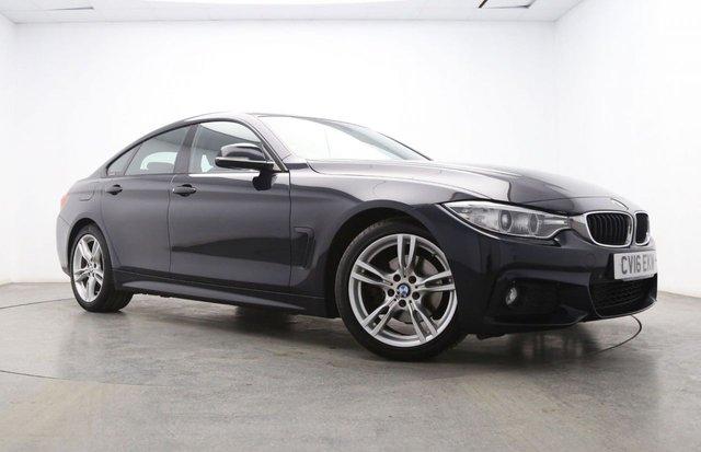 2016 16 BMW 4 SERIES 2.0 420D M SPORT GRAN COUPE 4d 188 BHP