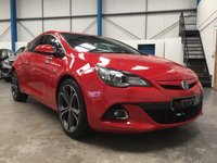 2016 VAUXHALL ASTRA 1.4 GTC LIMITED EDITION S/S 3d 138 BHP £10995.00