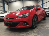 """USED 2016 16 VAUXHALL ASTRA 1.4 GTC LIMITED EDITION S/S 3d 138 BHP Low Mileage, Full Vauxhall Service History, Satellite Navigation, Heated Leather Seats, Bluetooth Phone and Media Streaming, Rear Parking Sensors, DAB Radio, Auto Lights and Wipers, Cruise Control, Air Conditioning, 20"""" Bi Colour Alloys"""