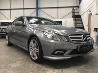 2010 MERCEDES-BENZ E CLASS 2.1 E250 CDI BLUEEFFICIENCY SPORT 2d AUTO 204 BHP £8495.00