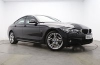 USED 2016 16 BMW 4 SERIES 2.0 420I XDRIVE M SPORT GRAN COUPE 4d AUTO 181 BHP Sat Nav Park Sensors Leather