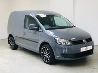 USED 2013 63 VOLKSWAGEN CADDY 1.6 C20 TDI TRENDLINE 1d 74 BHP RARE COLOUR + NEW 18 INCH ALLOYS + LOW MILES + SERVICE HISTORY