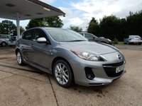 USED 2013 63 MAZDA 3 1.6 TAMURA 5d 103 BHP LOW MILES,AIR CON,TWO KEYS,AUX PORT,PARKING SENSORS,HISTORY