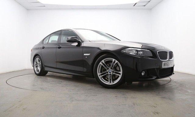 2015 65 BMW 5 SERIES 2.0 520D M SPORT 4d 188 BHP