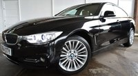 USED 2014 64 BMW 4 SERIES 2.0 420D XDRIVE LUXURY GRAN COUPE 4d AUTO 181 BHP