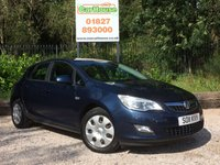 USED 2011 11 VAUXHALL ASTRA 1.4 EXCLUSIV 5dr Air Con & Cruise Control