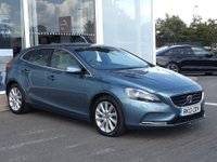 2013 VOLVO V40 1.6 D2 SE LUX NAV 5 DOOR 113 BHP IN BLUE SAT NAV FULL LEATHER 1 OWNER FULL SERVICE HISTORY IMMACULATE CONDITION. ULEZ COMPLIANT  £7499.00