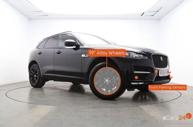 JAGUAR F-PACE at Georgesons