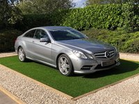 USED 2012 12 MERCEDES-BENZ E CLASS 2.1 E250 CDI BLUEEFFICIENCY S/S SPORT 2d 204 BHP A Well Maintained Example with a Detailed Full Service History and Full Black Leather Multi Contour Heated Electric Memory Seats, Command Satellite Navigation + Bluetooth Connectivity, 18 Inch AMG Alloy Wheels, Automatic Xenon Headlights with Power Wash, Front and Rear Park Distance Control, Heated Electric Powerfold Mirrors, Leather Multi Function Steering Wheel, Cruise Control, Digital Dual Zone Climate Control, On-board Computer, Privacy Glass