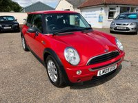 2005 MINI HATCH ONE 1.4 ONE D 3d 74 BHP £SOLD