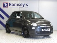 USED 2011 11 FIAT 500 1.2 MATT BLACK 3d 69 BHP
