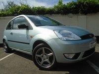 2003 FORD FIESTA 1.4 ZETEC 16V 3d 78 BHP £1499.00