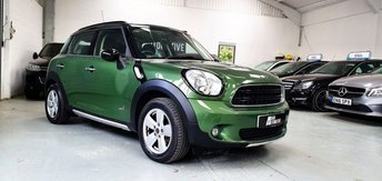 2016 MINI COUNTRYMAN 2.0 COOPER D ALL4 5d AUTO 110 BHP £11239.00