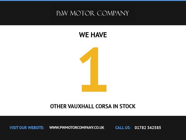 USED 2016 66 VAUXHALL CORSA 1.4 LIMITED EDITION ECOFLEX 3d 74 BHP SRI black roof