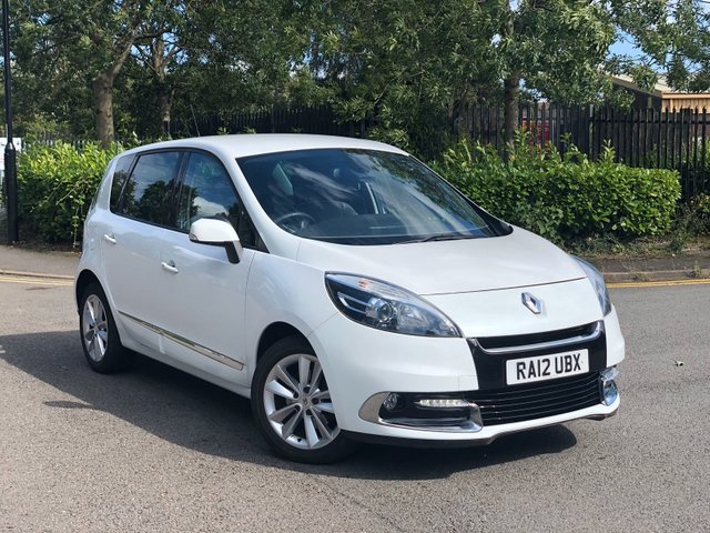 2012 12 RENAULT SCENIC 1.5 DYNAMIQUE TOMTOM LUXE PACK DCI EDC 5d AUTO 110 BHP