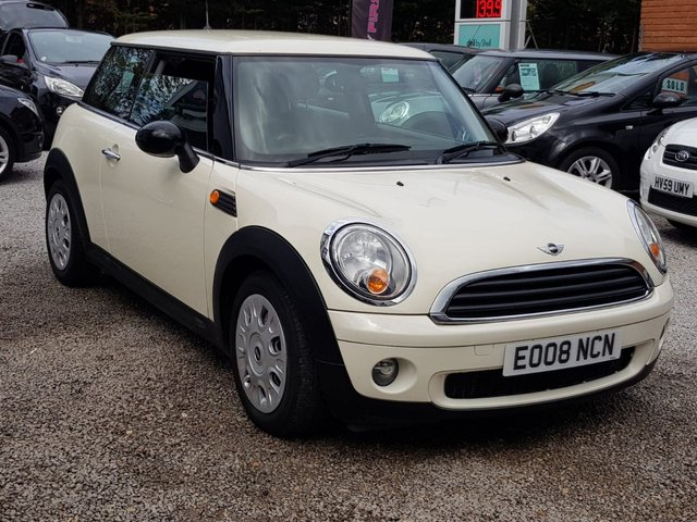 MINI HATCH ONE at My First Car