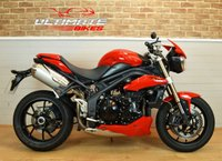 2010 TRIUMPH SPEED TRIPLE 1050CC NAKED STREET FIGHTER £5295.00