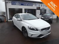 USED 2014 VOLVO V40 1.6 D2 R-DESIGN LUX 5d 113 BHP