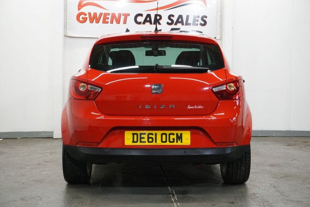 USED 2011 61 SEAT IBIZA 1.4 SPORTRIDER 3d 85 BHP LOW MILEAGE GREAT DRIVE, CLEAN EXAMPLE