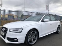 2013 AUDI A4 2.0 TDI BLACK EDITION 4d 174 BHP £12950.00