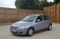 USED 2005 55 VAUXHALL CORSA 1.4 DESIGN 16V 5d AUTO 90 BHP Call us for full details on 01603 542474  Part exchange to clear, bright small automatic 5 door with really low miles, has air con, electric windows.