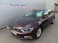 USED 2016 16 VOLKSWAGEN PASSAT 1.6 S TDI BLUEMOTION TECHNOLOGY 5d 119 BHP FULL HISTORY