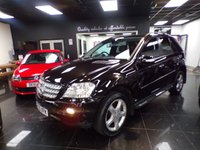 2005 MERCEDES-BENZ M CLASS 3.0 ML320 CDI SPORT 5d 222 BHP £SOLD