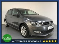 USED 2013 13 VOLKSWAGEN POLO 1.4 MATCH DSG 5d 83 BHP SERVICE HISTORY - ULEZ OK - AIR CON - CD PLAYER - AUX CONNECTION - 15' ALLOYS
