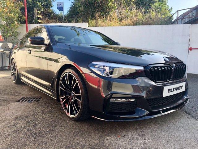 2018 17 BMW 5 SERIES 3.0 530D M SPORT 4d AUTO 261 BHP