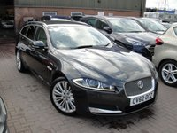 USED 2012 A JAGUAR XF 2.2 D PORTFOLIO SPORTBRAKE 5d AUTO 200 BHP ANY PART EXCHANGE WELCOME, COUNTRY WIDE DELIVERY ARRANGED, HUGE SPEC