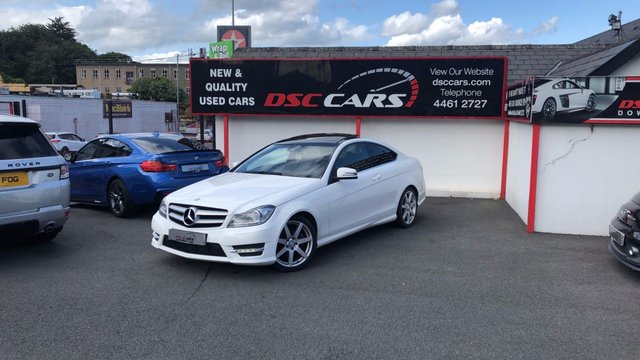 2013 63 MERCEDES-BENZ C CLASS 2.1 C220 CDI BLUEEFFICIENCY AMG SPORT 2d AUTO 170 BHP