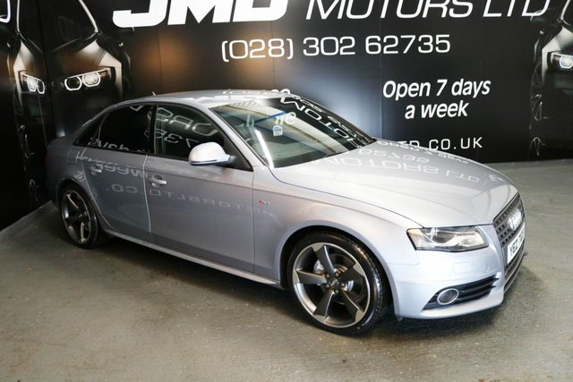 2009 AUDI A4 2.0 TDI S LINE BLACK EDITION STYLE AUTO 141 BHP (FINANCE AND WARRANTY)