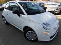 2010 FIAT 500 1.2 POP 3d 69 BHP (FULL SERVICE HISTORY + AIRCON) £3290.00