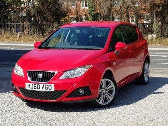 2010 SEAT IBIZA 1.4 GOOD STUFF 5d 85 BHP £3995.00