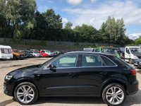 USED 2013 63 AUDI Q3 2.0 TDI S line quattro 5dr Cruise/Nav/ParkingSensors
