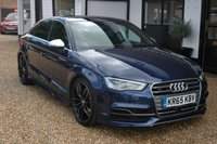 USED 2015 12 AUDI A3 2.0 S3 QUATTRO NAV 4d AUTO 296 BHP An impressively specified, properly cared for Audi S3 Quattro with full Audi History.