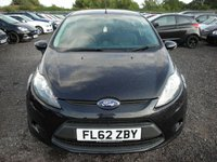 USED 2012 62 FORD FIESTA 1.4 EDGE TDCI 3d 69 BHP FSH - Cheap tax