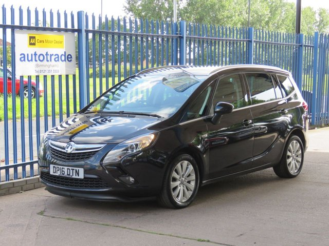 USED 2016 16 VAUXHALL ZAFIRA TOURER 1.4 SE 5dr Auto 7 Seater Front & rear park Privacy Cruise Finance arranged Part exchange available Open 7 days