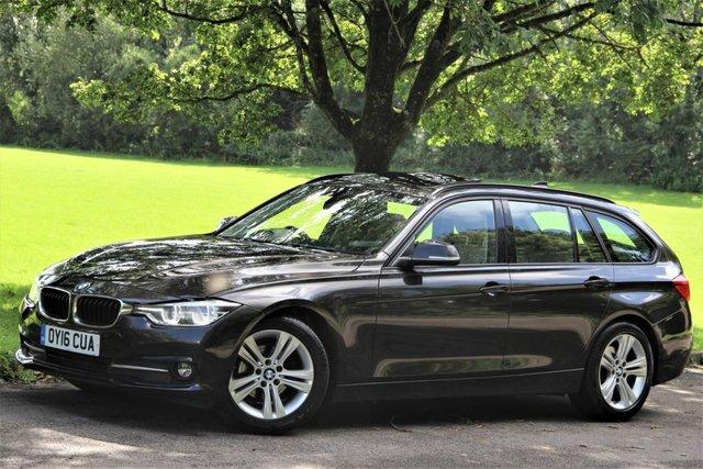2016 16 BMW 3 SERIES 2.0 320D ED SPORT TOURING 5d AUTO 161 BHP