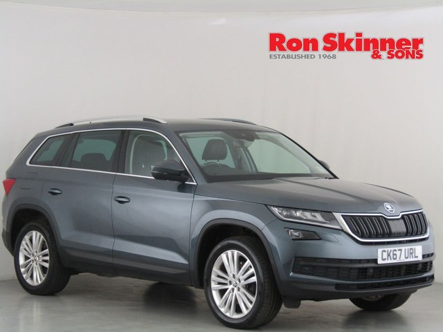 View our 2017 67 SKODA KODIAQ 2.0 EDITION TDI SCR DSG 5d 188 BHP