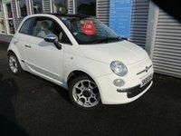 2009 FIAT 500 1.2 LOUNGE 3d 69 BHP £3580.00