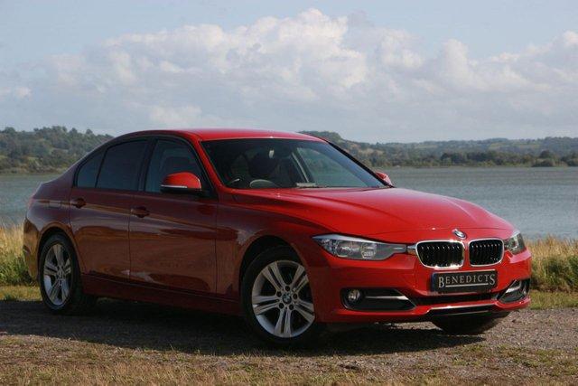 2012 12 BMW 3 SERIES 2.0 320D SPORT 4d AUTO 184 BHP