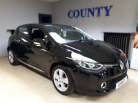 USED 2014 64 RENAULT CLIO 1.1 DYNAMIQUE MEDIANAV 5d 75 BHP ONE OWNER * LONG MOT
