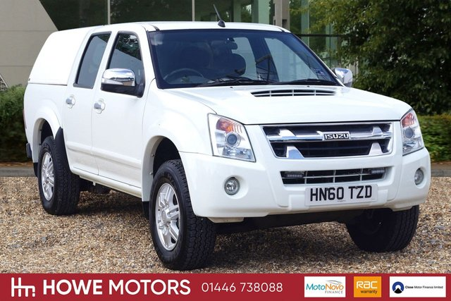 2011 60 ISUZU RODEO 2.5 TD RODEO DENVER DCB 4d 135 BHP ICE-COLD AIR CONDITIONING CLARION AUDIO ENTERTAINMENT WITH AUX MUSIC ALLOY WHEELS REMOTE CENTRAL LOCKING